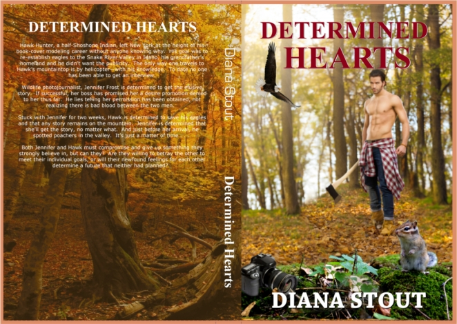 Determined Hearts Full Cover - Flat with old ebook cover