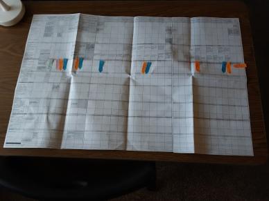 Plotting spreadsheet